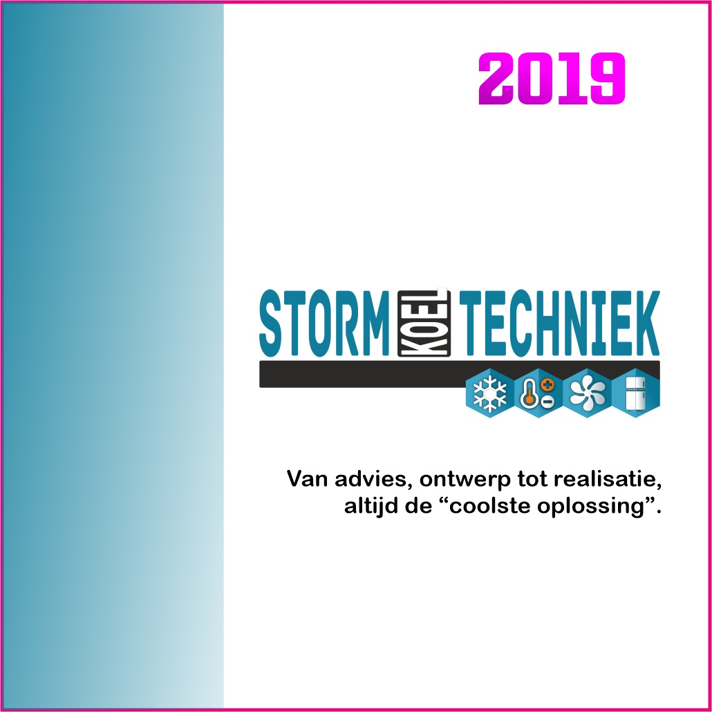 Logo Storm Koeltechniek marketing beweegt 2019