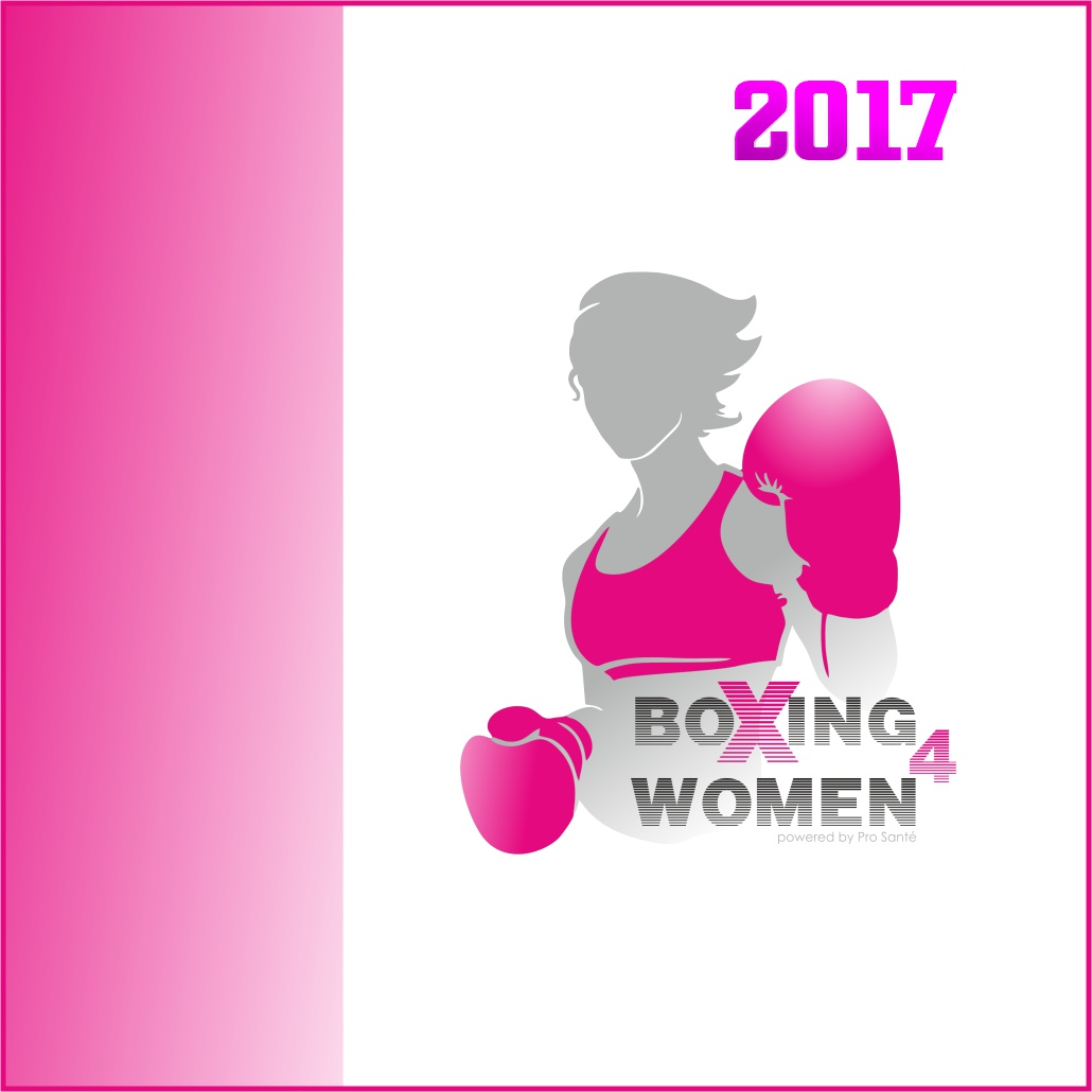 Logo boxing for women beweegt 2017