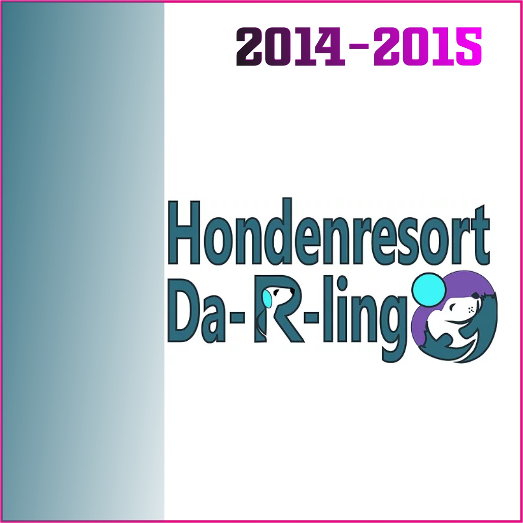 logo hondenresort darling marketing beweegt 2014-15
